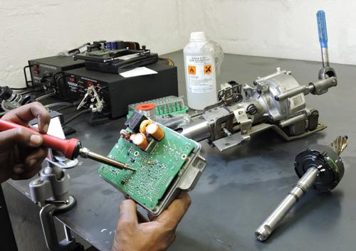 Electronic Steering